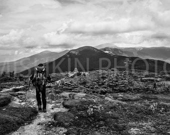 Appalachian Trail: Presidential Range, White Mountains, NH