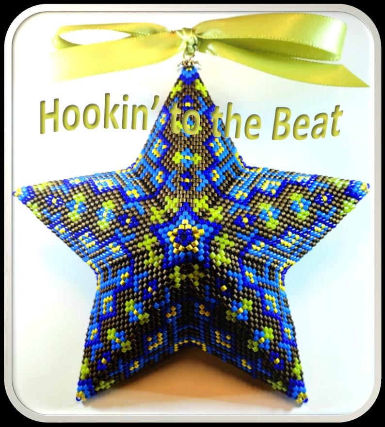 5 Mosaics Peyote Star No Digital Download