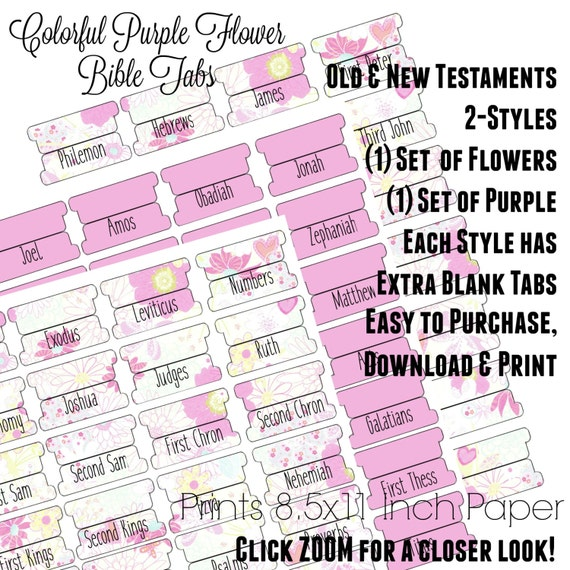 picture regarding Printable Bible Tabs called Bible Tabs - Printable Bible Tabs - Bible Journaling tabs - Bible Journaling - Tabs for Bible - Encourage Bible Tabs