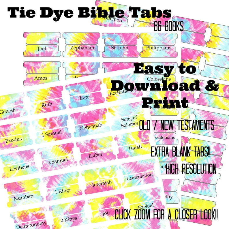 photo about Printable Bible Tabs identified as Bible Tabs - Printable Bible Tabs - Bible Journaling tabs - Bible Journaling - Tabs for Bible - Encourage Bible Tabs