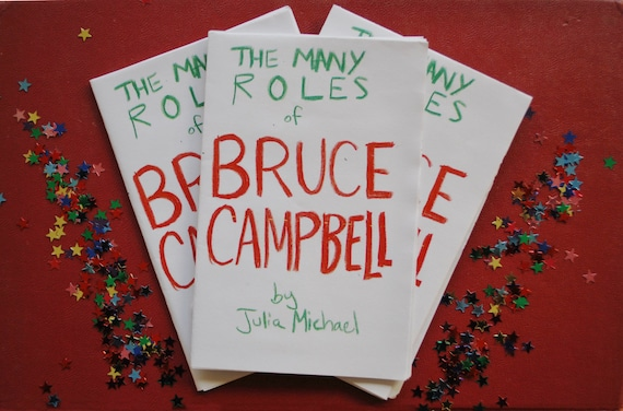 Bruce Campbell Zine Gifts For Film Lovers The Evil Dead