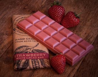 Strawberry White Chocolate Dairy Free Vegan