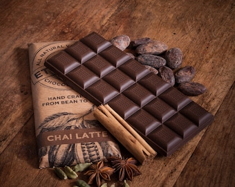 Vegan Milk Chocolate with Chai Tea - Gifts for Her