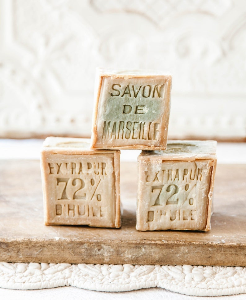 Cube 600 gr Authentic Savon de Marseille Handcrafted in image 0