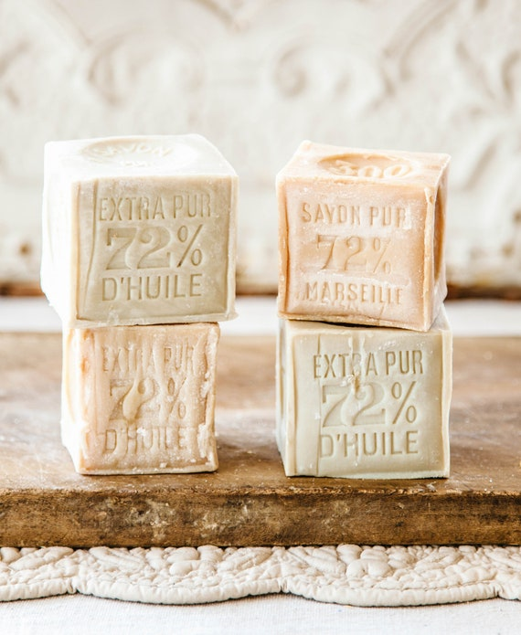 undefeated x store get online Cube 300 gr, Authentic Savon de Marseille Handcrafted in Marseille, 72%  Extra Pure Coconut and Copra Oil Natural Soap