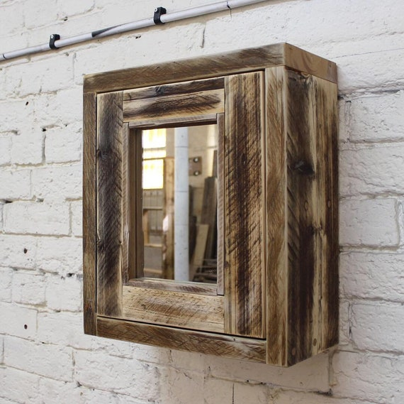 DARCY | Reclaimed Wood Mirror Cabinet