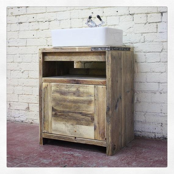 IVAN | Reclaimed Wood Vanity Unit