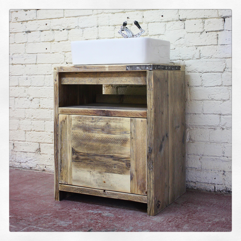 Ivan Solid Wood Vanity Unit Handmade, Handmade Bathroom Vanity