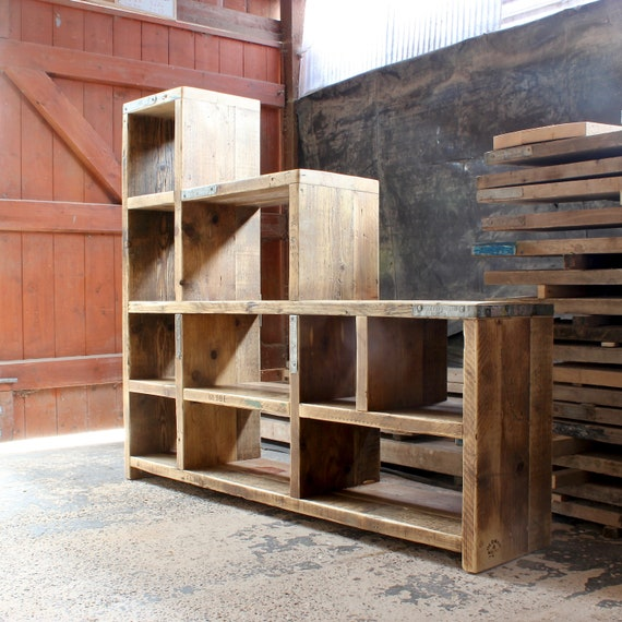 ISSAC | Reclaimed Wood Bookcase