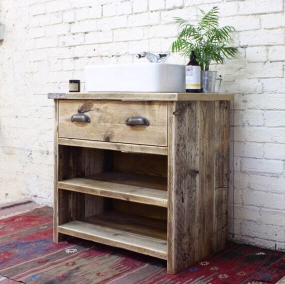 GEORGI | Reclaimed Wood Bathroom Vanity Unit