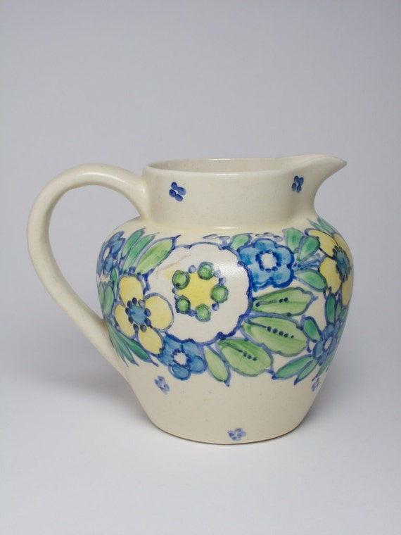 Hand Painted Pottery By Ann Macbeth