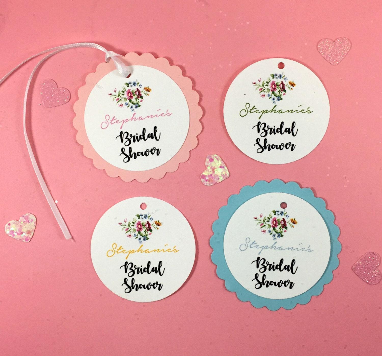 20 Bridal or Baby Shower Hang Tags Bridal Shower FavorsBaby | Etsy
