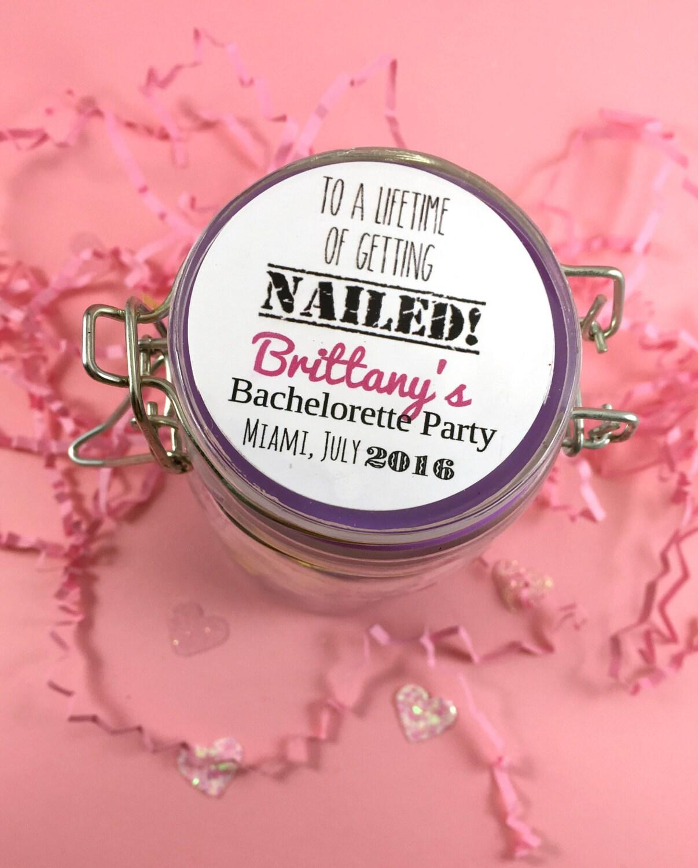 12 Bachelorette Favor StickersBridal Shower StickerWedding | Etsy
