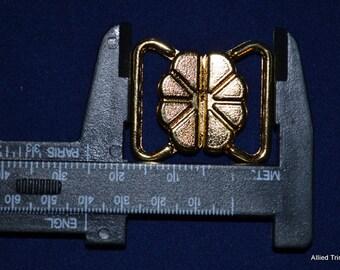 10 x 20mm 24k Gold Front Closure - 10 sets