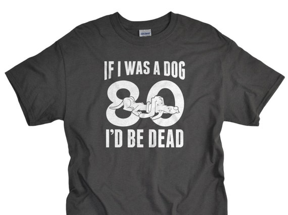 80th Birthday Gift Tshirt 80 Year Old Shirt