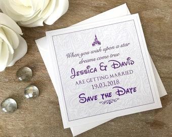 Save The Date Karten Hochzeit Sparen Das Datum Etsy