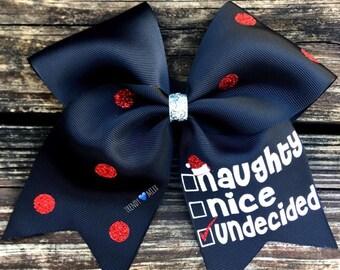 Naughty nice bow