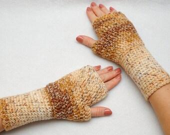 Fingerless Gloves Fingerless Mittens Womens Gloves Crochet Gloves Girlfriend Gift for Wife Gift For Her Winter Gloves Womens gift ideas