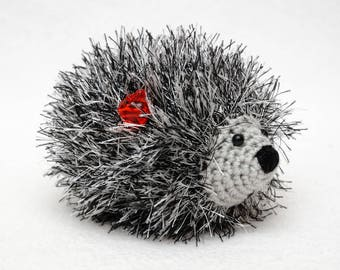 kids gift Crochet Hedgehog Baby toys Cute toy Baby Soft toy gift for baby Miniature toys Pet toys Plush Gift for kids Stuff animal amigurumi