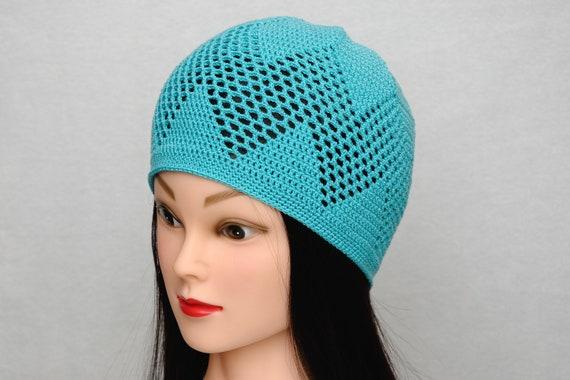 Gehäkelte spitzen Hut Spitze häkeln Mütze Frauen Spitze Mütze