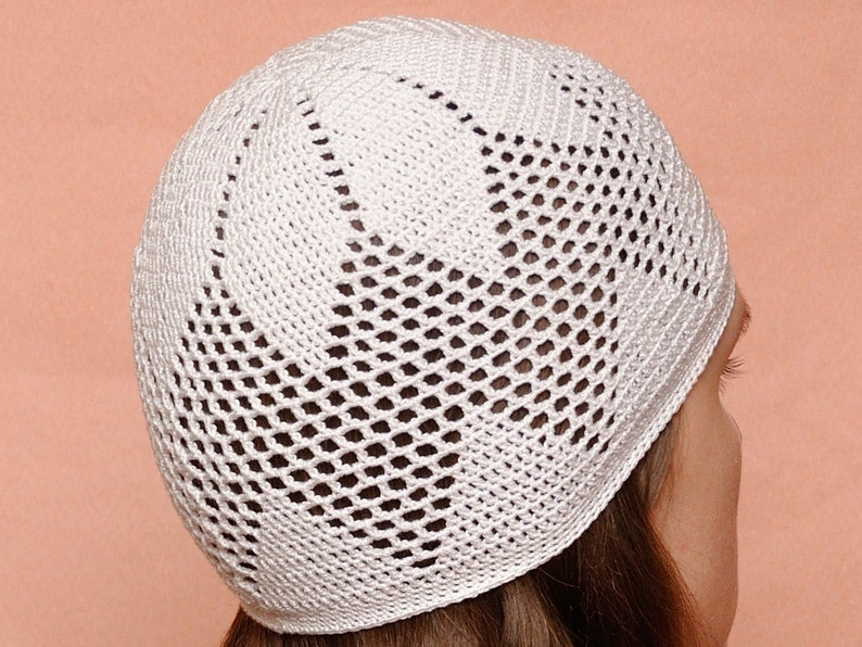 Sun Hat Womens Hats Summer Hat Crochet Hat Stretch Hat Lace Hat Lace Beanie Women Beanie Spring Hat Gift For Women Gift Ideas Gift-for-Her