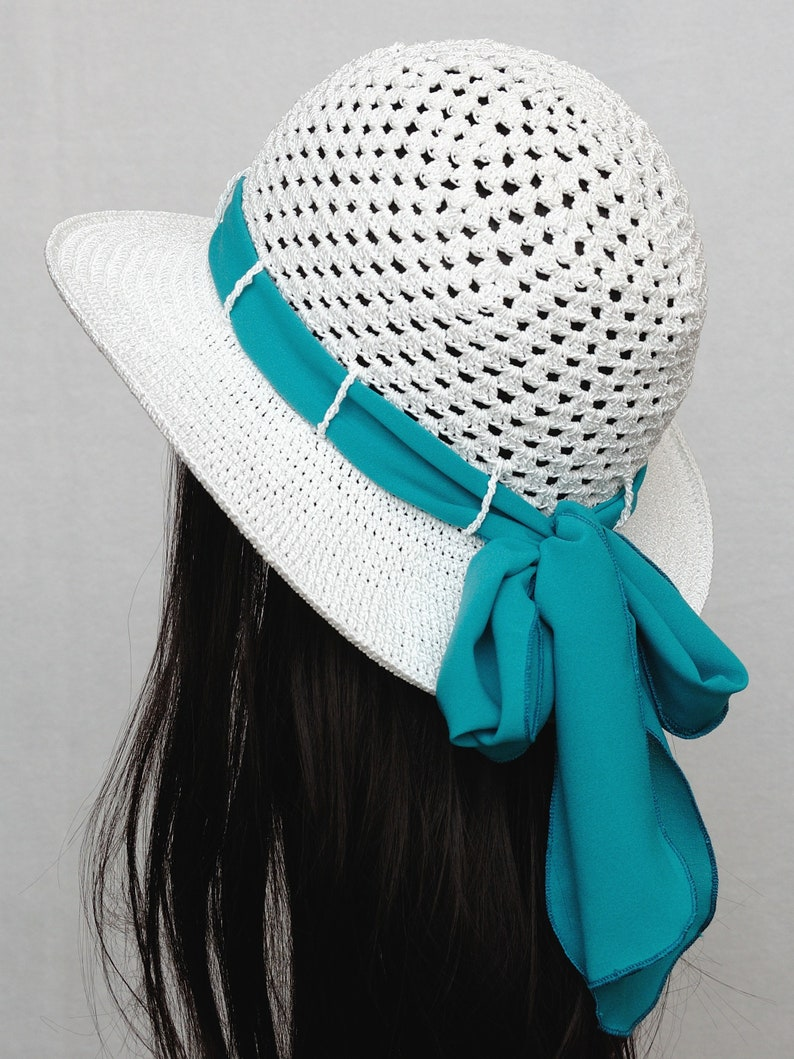 Crochet Beach Hat Floppy Sun Hats Womens hats Crochet Hat Beach Accessories Wide Brim Hat Summer outfits Vacation accessories Casual Hat
