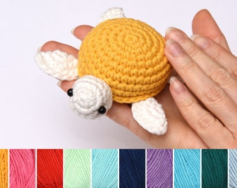 Crochet Turtle toy kids gift for Girlfriend gift for her Crochet Plush toy Kids Stuff Toy Stuffed Animal pet Amigurumi miniature Baby Gift
