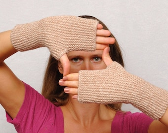 Clothing Gift Fingerless Gloves Mittens Accessories Womens Gloves Arm Warmers Girlfriend Gift for Women Gift For Her Knit Winter Gloves Fall