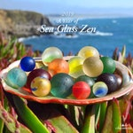 2019 Sea Glass Calendar, A Year of Sea Glass Zen, Sea Glass,Sea Glass Marbles, Sea Glass Stoppers, Tide Charmers Calendar
