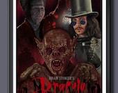 Bram Stoker's Dracula 1992- Gary Oldman - Fan Art - A3 Print