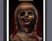 Annabelle (Doll) Fan Art Movie  A3 Print