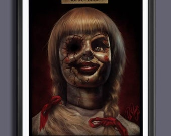 Annabelle doll | Etsy