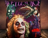 Beetlejuice 1988 - Michael Keaton - Tim Burton - Soft Plush Cushion Cover