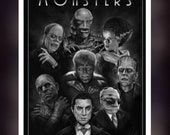Universal Monsters Fan Ar...