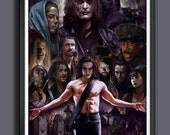 The Crow - Brandon Lee -Movie - Fan Art - A3 Print