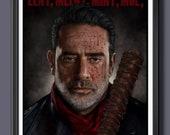 Negan Walking Dead Fan Ar...
