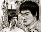 Bruce Lee - A3 Size Poste...
