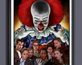 IT Losers Club Mini Series 1990 - Fan Art Movie Print - A 3 Size
