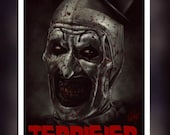 Terrifier Art The Clown H...