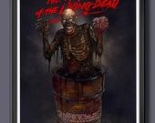 Return Of The Living Dead (Tar-Man) Fan Art  - A3 Print