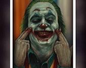 The Joker 2019 Movie  - Fan Art - A5 Size Greeting Card