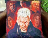 The Lost Boys 80's Vampire - Kiefer Sutherland - David - Soft Plush Cushion Cover