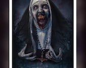 The Nun Fan Art - A5 Size...