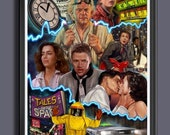 Back To The Future Movie - Fan Art - A3 Print