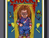 Chucky out of box Fan Art...