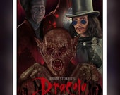 Bram Stokers Dracula 1992 - A5 Size Greeting Card