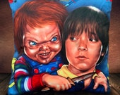 Chucky - Andy Child's Play Fan-Art - Soft Plush Cushion Cover