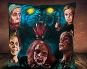 Pet Sematary 1989 - Stephen King  Art Inspired - Soft Faux Suede Plush Cushion Cover