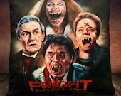 Fright Night Cult 80's - Movie - Charley Brewster- Fan Art - Soft Plush Cushion Cover