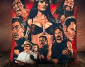 Dusk Till Dawn Movie Fan-Art - Soft Plush Cushion Cover